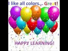Learn colors for children. we all love Colors. best way for kids these different colors with balloons colors. watch all of our new exciting learning videos for kids.  Learn 11 colors with this fun, bouncy video by ELF Learning. Both text and visual images are repeated 4 times making it perfect for learning or review. New ways of presenting the information keep this simple topic engaging for young learners. Special care has been taken to annunciate clearly for ESL and EFL students.