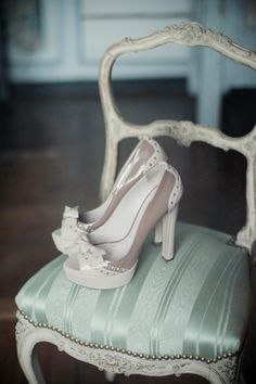 nude and white shoes by Miu Miu. beautiful! want!!! These are the perfect neutral shoe!