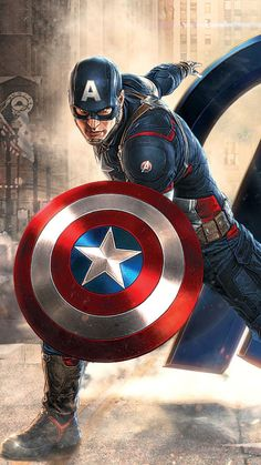 Captain America in Avengers Movie wallpapers Wallpapers) – HD Wallpapers Marvel Dc Comics, Hero Marvel, Marvel Art, Marvel Movies, Iron Man Avengers, The Avengers, Hawkeye Avengers, Chris Evans Captain America, Marvel Captain America
