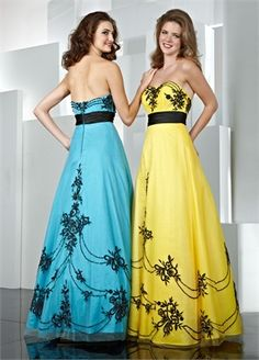010d0ffd35 A-line Sweetheart Empire Waist Tulle and Taffeta Prom Dress PD0063  www.simpledresses.