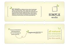 Simple Works (ORGANIC SOAPS) on Behance