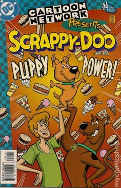 Cartoon Network Presents (1997) 24 scrappy scooby doo DC Comic book cover shaggy