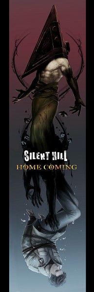Pyramid Head a. The Bogeyman / Alex Shepherd (Silent Hill Homecoming) Scary Movies, Horror Movies, Horror Art, Chiara Bautista, Silent Hill 2, Evil Dead, Pyramid Head, Henna, Horror Video Games