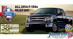 We're having a great 2014 F150 sale!