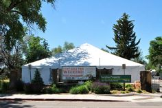Throwback to our Tent Sale last June, when it was MUCH warmer and sunnier than it is right now! We're already looking forward to next year's sale!