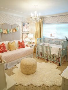 Kbgdesign | Baby Gilmour Girl Nursery