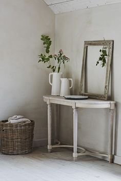 From console tables to coat racks, stay looking neat and tidy with our hallway storage furniture. See the collection for yourself online or in-store. Large Console Table, Console Tables, Wood Pallet Art, Hallway Furniture, Modern Shelving, Hallway Decorating, Decorating Ideas, Interior Inspiration, Bedroom Inspiration