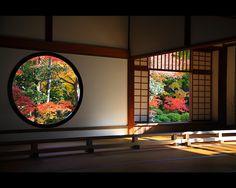 windows of confusion and enlightenment, kyoto genkoan