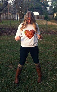 20 easy ways to make a sweatshirt really cute