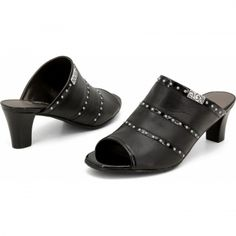 Teri Sandal With Heel  available at #Brighton These shoes run small, so try a half size larger.