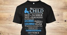 Discover He Is My Heart Limited Edition T-Shirt from Autism Moms, a custom product made just for you by Teespring. With world-class production and customer support, your satisfaction is guaranteed. - My Child Is Not A Number Not A Diagnosis But A...