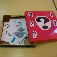 Un rituel en anglais... la question box !