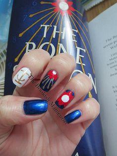 The Bookish Manicurist: The Bone Season Hello Hello, Manicure, Nails, Bookstagram, Season 3, Class Ring, Bones, Nail Art, Club