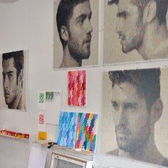 Peter Combe 的碎紙片立體肖像畫 - ㄇㄞˋ點子靈感創意誌