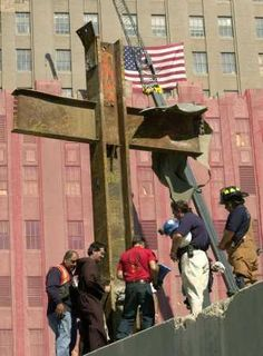 911 Cross. Remembering all who died on such a tragic, world changing day as well as their family members and all of the soldiers who have continuously been fighting since then to protect our country and keep our country free to this day.