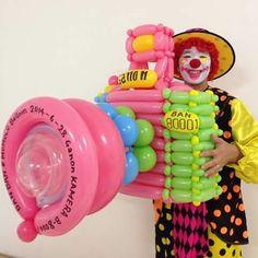 Balloon Toys, Love Balloon, Balloon Animals, Happy Balloons, Balloons And More, Balloon Centerpieces, Centerpiece Decorations, Baloon Art, Twisting Balloons