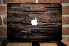 Wood Macbook Case Wooden Macbook Case by CreativeMacBookCases