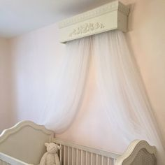 Bed Canopy, Crib Canopy, Crib Crown, Bed Crown, Cornice A Creative Cottage