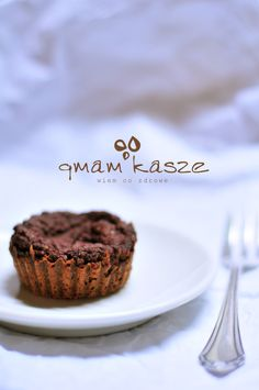 Chocolate cupcake with millet