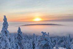 Tiina Törmänen: Winter Landscape, Finland