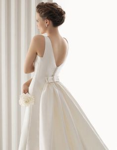 Wedding dress by Rosa Clara