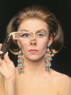 Actress Betsy von Furstenberg, photo by Milton Greene, New York City, 1962. S)