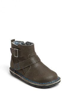 walker shoes- Stride Rite 'Medallion Collection - Stefan' Boot (Baby, Walker & Toddler) available at #Nordstrom