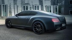 2014 Bentley Continental GT Duro China Edition by DMC Matte Black and Silver Color Gt Continental, Bentley Continental Gt Speed, Black Bentley, Bentley Gt, Luxury Car Brands, Top Luxury Cars, My Dream Car, Dream Cars, Bentley Rolls Royce