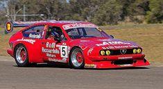 Alfa Romeo Alfetta GT6 group 4 racer