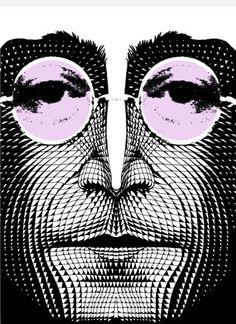 John Lennon by Klaus Voorman