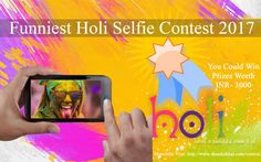 Take your funniest holi selfie to participate in Holi selfie contest 2017 and you could win exciting prizes. Submit your selfie and share with your friends and family #FunniestHoliSelfieContest2017 #contest #contestalert #ShaadieKhascontest #contests #contestentry #giveaway #competition #win #wedding #prize #comp #FreeKaaMaal #Contestmantra #ContestKiDuniya #Coupondunia #Contestnews