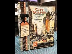 DIY Photo Album - Mr. Benjamin Graphic 45 City Scapes Final Review Part 1 of 2 - YouTube