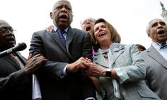 Lawmakers Are Not Happy That donald trump Attacked John Lewis. (Neither am I. This man has suffered for this country and he is a national hero... trump is a gnat, by comparison.)