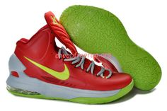 e1f575a2444b New Nike Zoom KD V Kevin Durant 5 Shoes For Sale Bright Crimson Volt Wolf  Grey