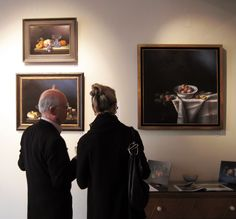 Brian Davies Memorial Exhibition Reception - Thank you to all who came to celebrate the life and work of Brian Davies.