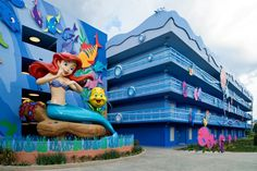 Wishing Well Travel – Disney's Art of Animation's Little Mermaid Rooms!