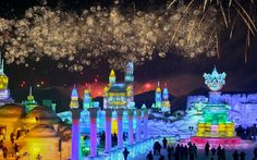 Harbin International Ice and Snow Festival - China