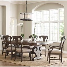 Kincaid Furniture Greyson 7 Pc Dining Set
