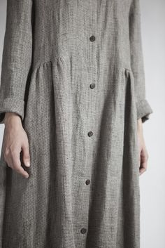 Dresses with pleats and buttons  IN SHOP NOW