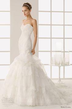 Two by Rosa Clará 2013 Wedding Dresses | Wedding Inspirasi