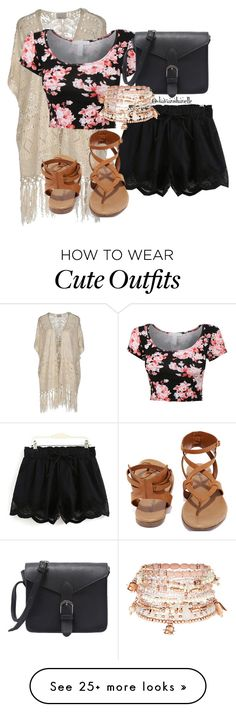 """""""Cute Outfit"""" by diavianshanelle on Polyvore featuring Vero Moda, Breckelle's, Accessorize, cute and fab"""