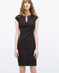 Image 1 of TUBE DRESS WITH RAGLAN SLEEVES from Zara