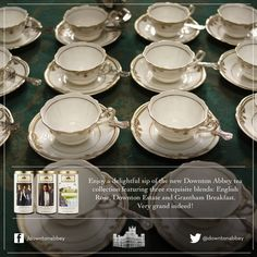 Downton Abbey tea!