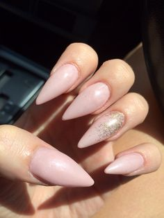 Pale pink and gold