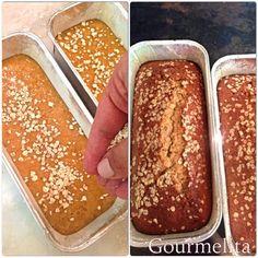 Στην εκδήλωση Food for Good που μας πέρασε, ήμουν υπεύθυνη να δημιουργήσω ένα κέικ με μέλι και βρώμη. Η ευγενική προσφορά των εταιρει... Banana Bread, Desserts, Cakes, Food, Tailgate Desserts, Deserts, Food Cakes, Eten, Postres