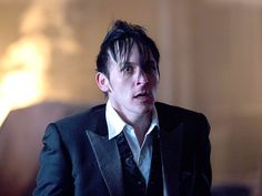 Robin Lord Taylor as Oswald Cobblepot on Gotham