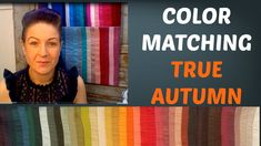 Autumn Color Palette - Mix and Matching Colors for Clothing | Warm Skin ...