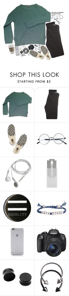 """""""//I'll never be, be what you see inside//"""" by abigialtheturtle ❤ liked on Polyvore featuring American Vintage, Citizens of Humanity, Vans, BEVEL, Venessa Arizaga, Native Union, Eos, Pieces, Chapstick and twentyonepilots"""