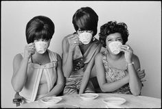 The Supremes -  American female singing group and the premier act of Motown Records during the 1960s.