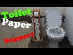 How to build Toilet Paper Holder from scrap wood. Toilet Paper, I Shop, Scrap, Make It Yourself, Building, Wood, Youtube, Projects, Log Projects